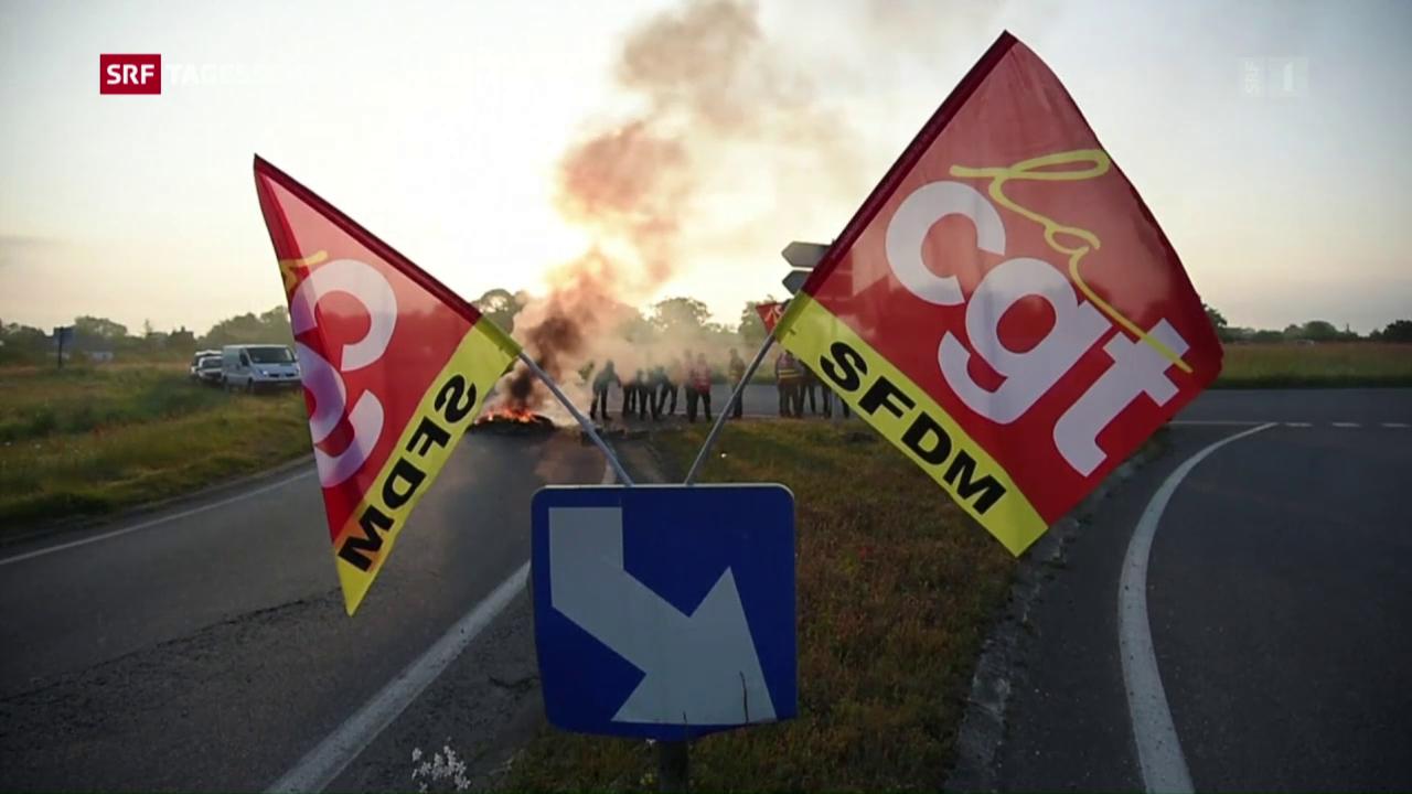 Gewerkschaft CGT will weiter streiken