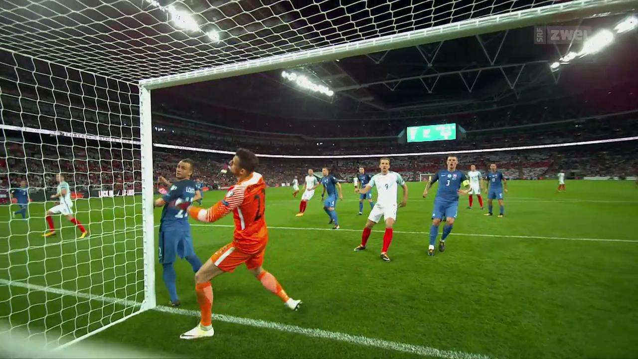England gewinnt den Spitzenkampf gegen die Slowakei