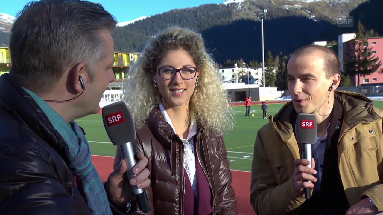 Eishockey: Spengler Cup, Neff und Schurter über Hockey