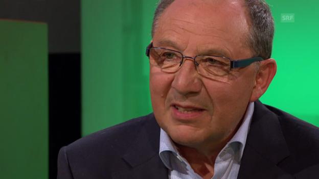 Video «Bernhard Thurnheer über seinen «geheimen positiven Plan» für die Schweizer Nationalmannschaft» abspielen