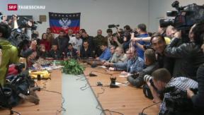 Video «Separatisten halten an Referendum fest» abspielen