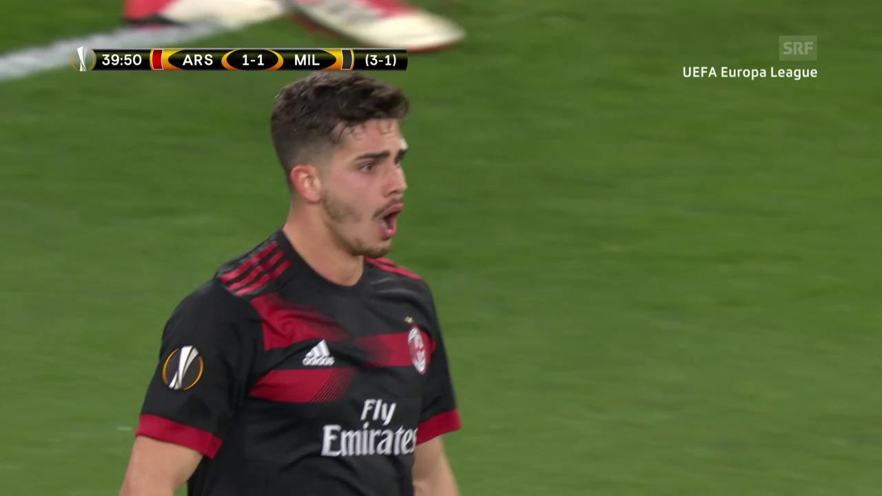 Zwei Penaltyszenen zu Ungunsten Milans
