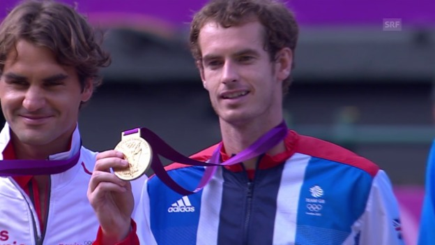 Video «Tennis: Federer - Murray, die Duelle in London 2012» abspielen