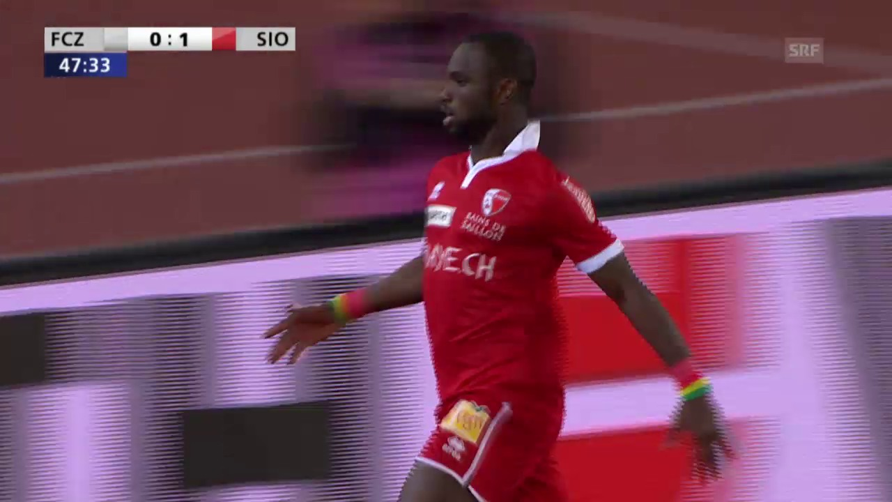 Fussball: Cup, FCZ-Sion, Highlights