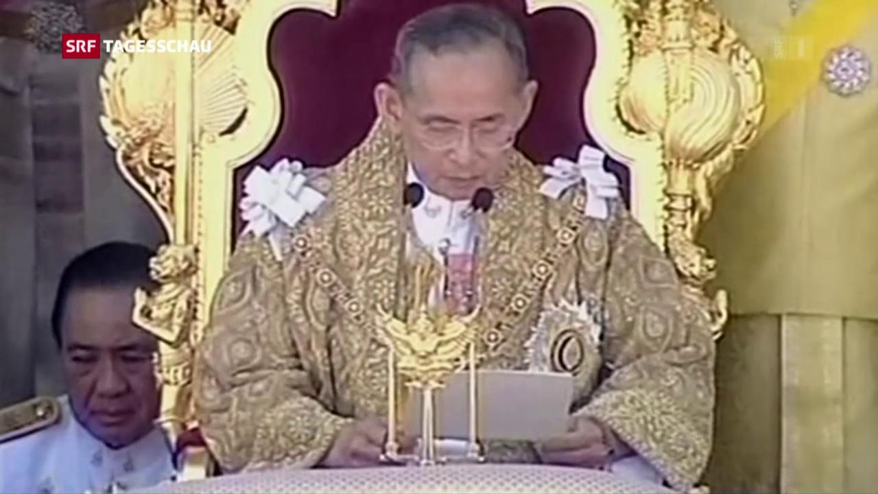 Thailand verliert seinen Landesvater