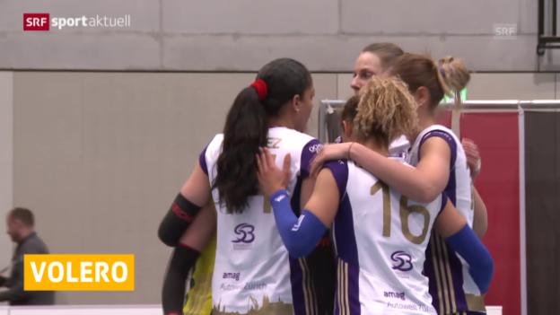 Video «Volleyball: Playoff-Final, Köniz - Volero Zürich, Spiel 2» abspielen