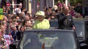 Video «Britische Queen Elizabeth wird 90» abspielen
