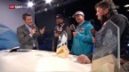 Video «Die Kanadier zu Gast im Studio» abspielen