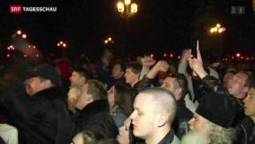 Video «Ukraines Regierung von innen und aussen unter Druck» abspielen