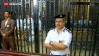 Video «Prozess Mubarak in Ägypten» abspielen