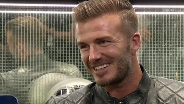 Video «David Beckhams Tochter hat modetechnisch die Hosen an» abspielen