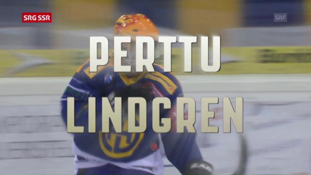 Video «Perttu Lindgren als wertvollster Spieler ausgezeichnet» abspielen