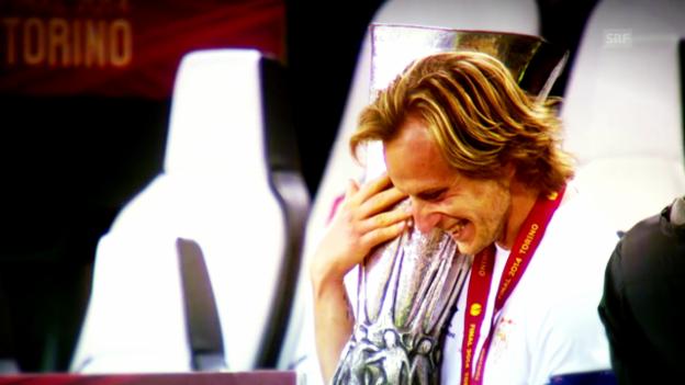 Video «Ivan Rakitic vor dem Supercup» abspielen