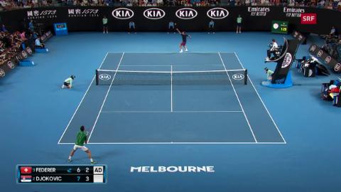 Federer perda cunter Djokovic