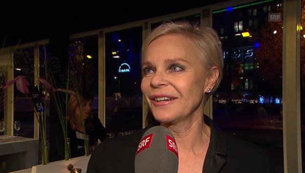 Video «Ursula Knecht im Interview mit «glanz & gloria»» abspielen