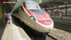 Video «Neuer Neigezug für Gotthard-NEAT vorgestellt» abspielen