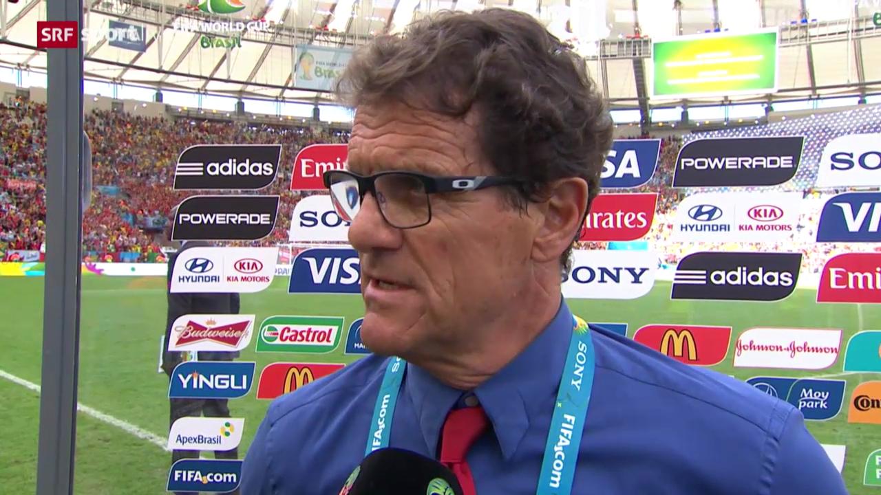 Belgien - Russland: Interview mit Fabio Capello