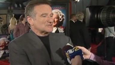 Video «Robin Williams: 1. Auftritt nach Alkoholentzug» abspielen