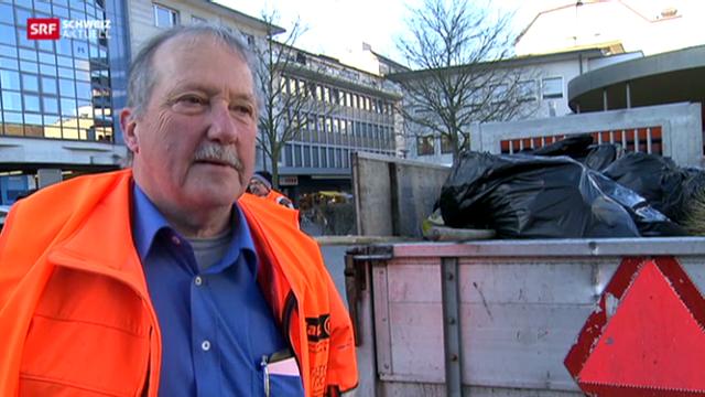 Güselwehr im Kampf gegen Abfall