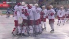 Video «Eishockey: Lakers - Lausanne» abspielen