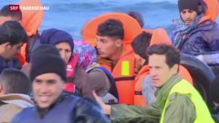 Video «Wieder ist ein Flüchtlingsboot gekentert» abspielen