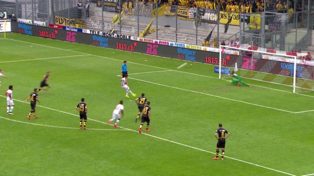Video «Fussball: Super League, Sion - YB» abspielen