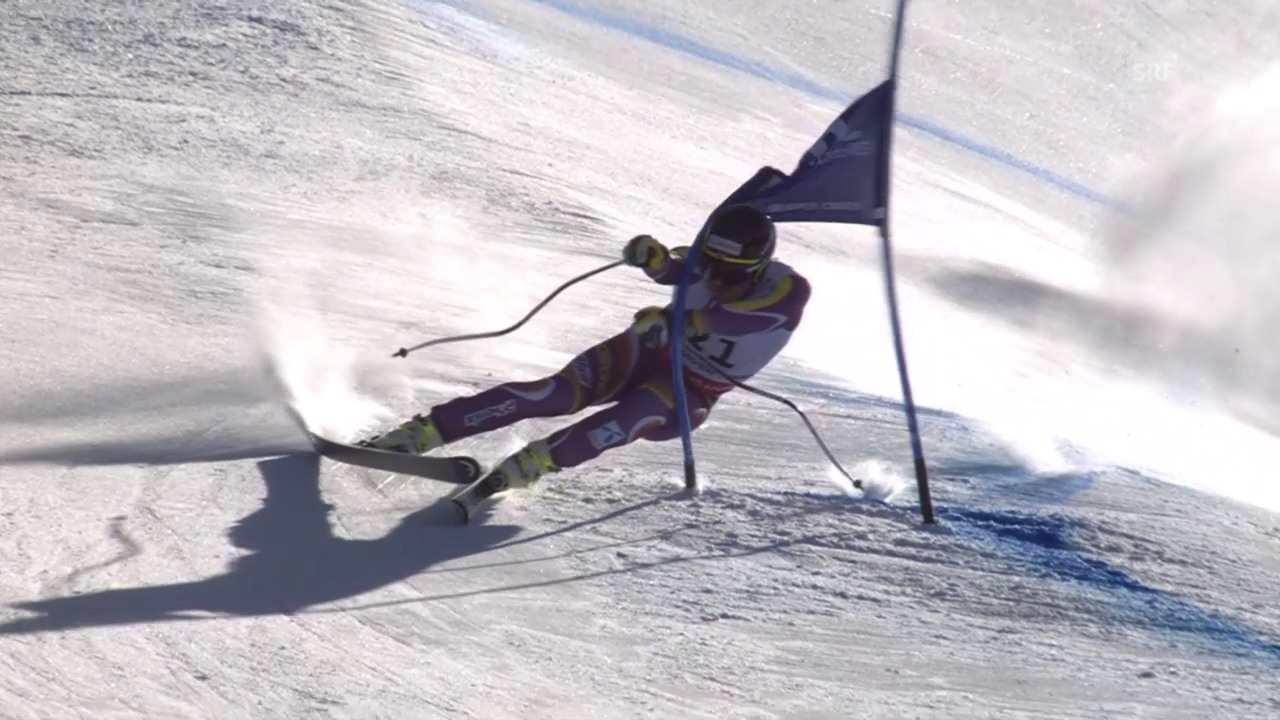 Ski: WM 2015 Vail/Beaver Creek, Super-G Männer, die Fahrt von Kjetil Jansrud