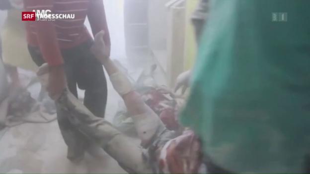 Video «Lage in Aleppo spitzt sich weiter zu» abspielen