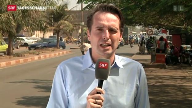 Video «Einschätzungen von Florian Inhauser aus Bamako» abspielen