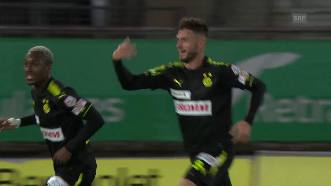 GC gewinnt das Cup-Duell in Lausanne