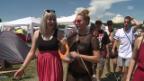 Video «Tina sucht den «Goldenen Gummistiefel»-Gewinner in Frauenfeld» abspielen