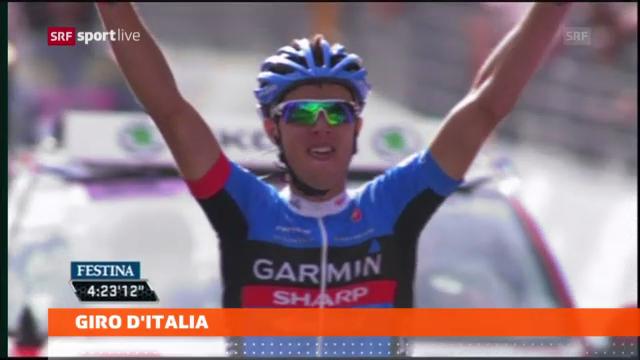 Rad: 11. Etappe des Giro d'Italia