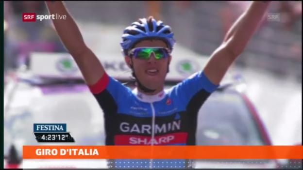 Video «Rad: 11. Etappe des Giro d'Italia» abspielen