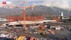 Video «Neuartige Brückenverschiebung» abspielen
