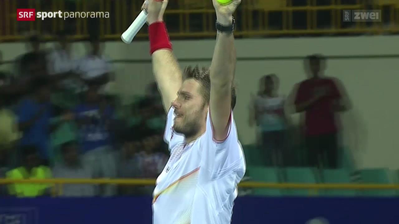 Tennis: Wawrinka - Roger-Vasselin
