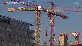 Video «Warmer Frühling stärkt Schweizer Arbeitsmarkt» abspielen