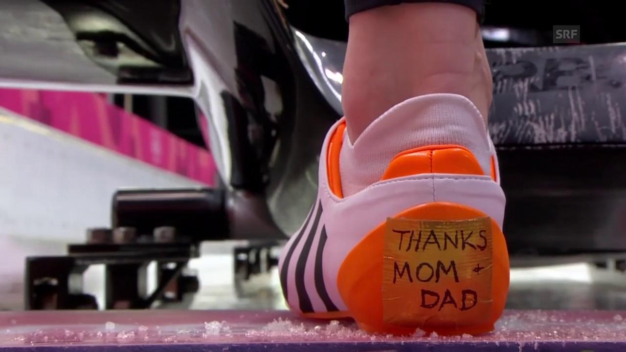 Dank an die Eltern
