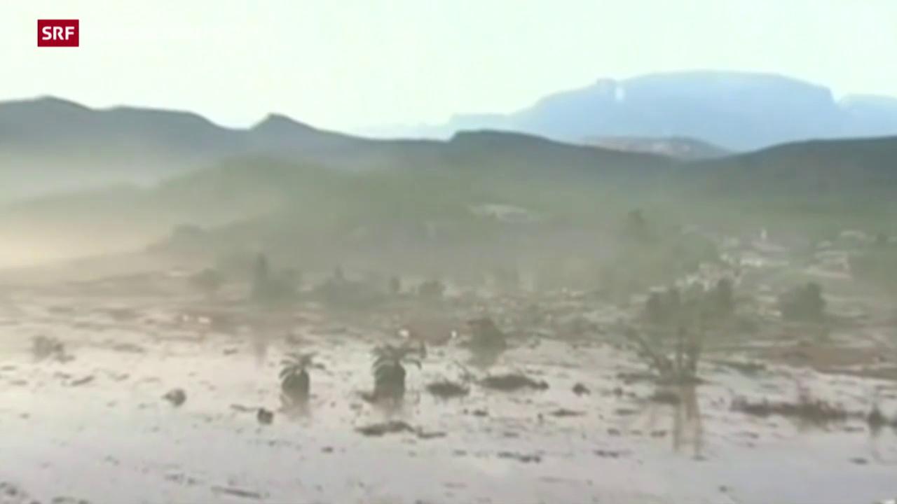 Giftige Schlammlawine in Brasilien