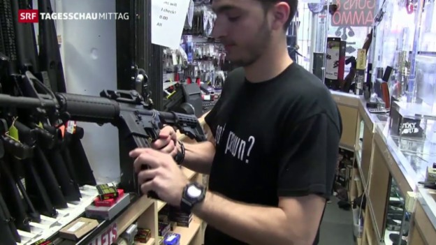 Video «Obama will schärfere Waffengesetze» abspielen