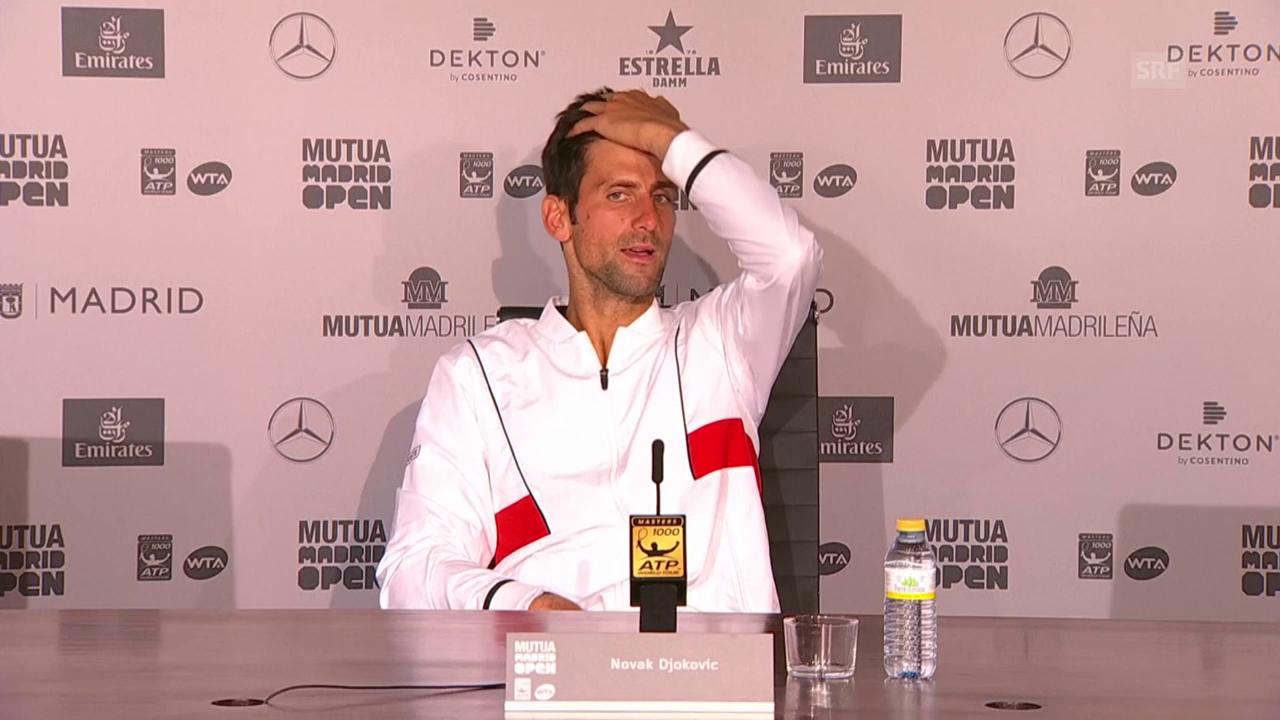 Djokovic: «Es ist nicht das Ende der Welt»