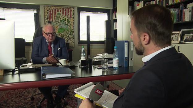 Video «Interview mit mutmasslichem Komplizen Matschke» abspielen