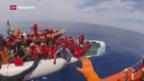 Video «Weniger Flüchtlinge aus Libyen» abspielen