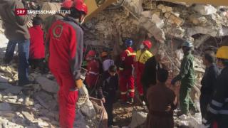 Video «Rettungseinsätze im Iran beendet» abspielen