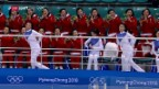 Video «Viel Freude beim 1. Spiel des vereinten Korea-Teams» abspielen