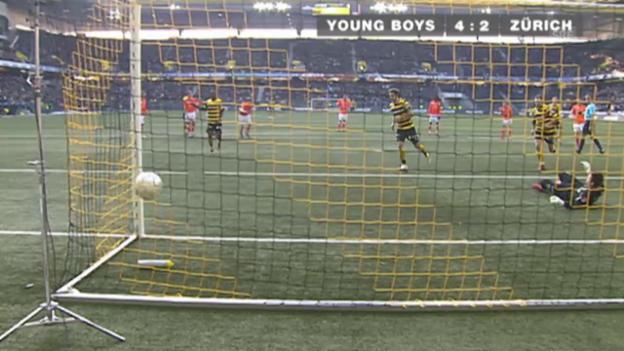 Video «Fussball: Super League, 22.3.2009, 25. Runde, YB-FCZ» abspielen