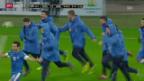 Video «WM-Barrage: Rumänien - Griechenland» abspielen