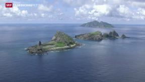 Video «Gereizte Stimmung wegen Chinas Luftverteidigungszone » abspielen