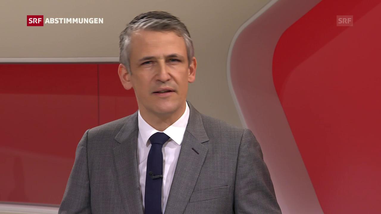 SRF-Bundeshausredaktor Christoph Nufer zum Druck auf die SRG