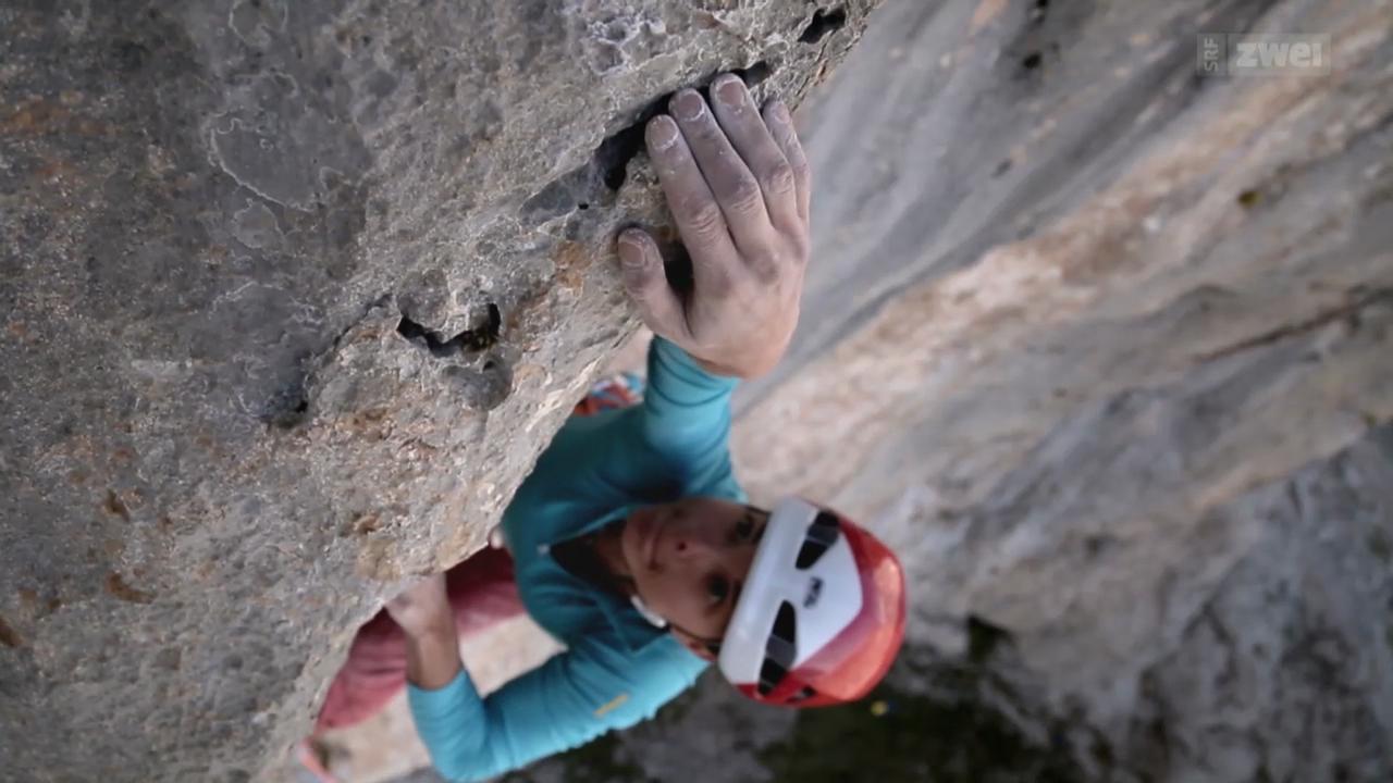 Klettern in Spanien: Nina Caprez hoch hinaus