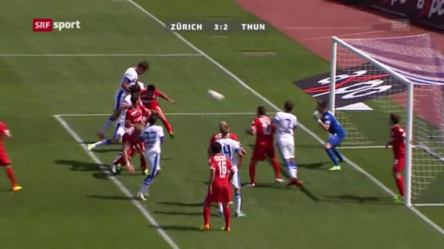 Video «Zusammenfassung Zürich - Thun («sportpanorama»)» abspielen
